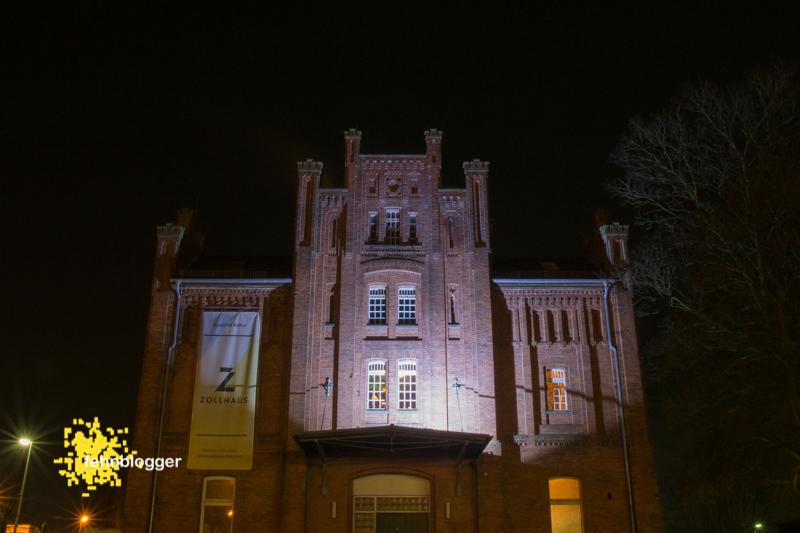 Zollhaus, Leer, Nachtaufnahme, Kultur, Live