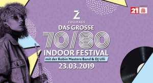 Das große 70/80 Indoor Festival mit der Robin Masters Band @ Zollhaus | Leer (Ostfriesland) | Niedersachsen | Deutschland
