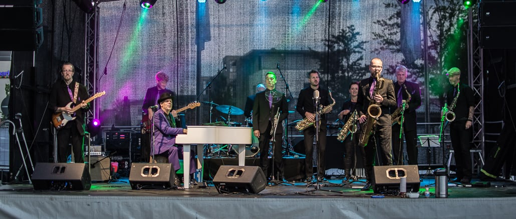 Fats Domino Tribute, Kesselschmiede Open Air, Papenburg, Rotary-Club Papenburg