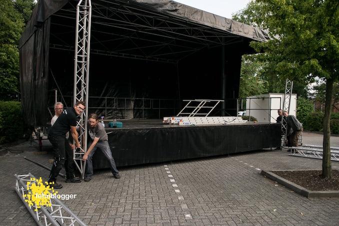 Bühne Konzert Angelo Kelly Rhauderfehn