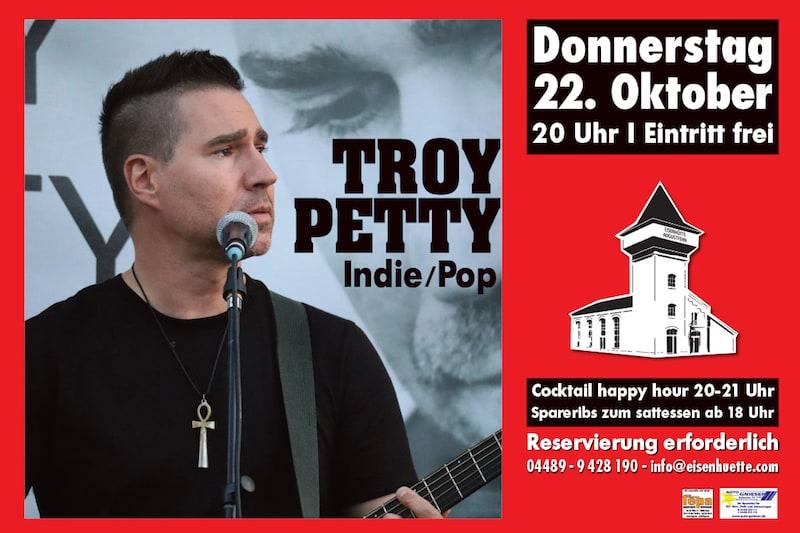 Troy Petty in der Eisenhütte Augustfehn