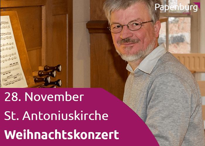 Orgel-Weihnachtskonzert | St. Antonius Kirche |Papenburg